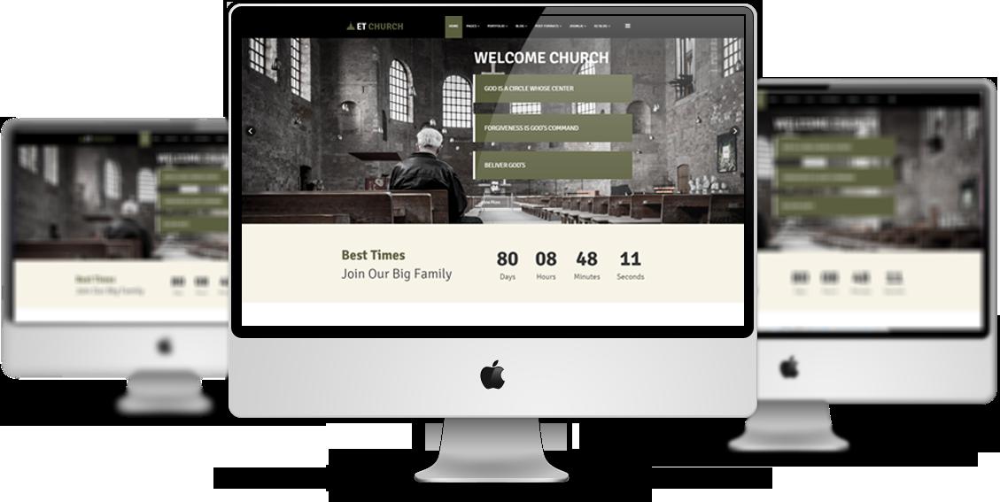 et church free responsive joomla church templates