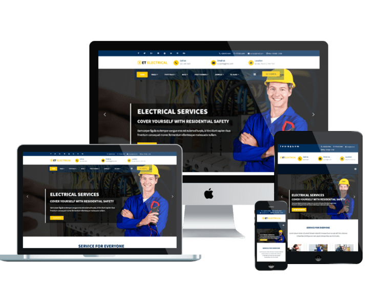 et-electrical-free-responsive-joomla-template