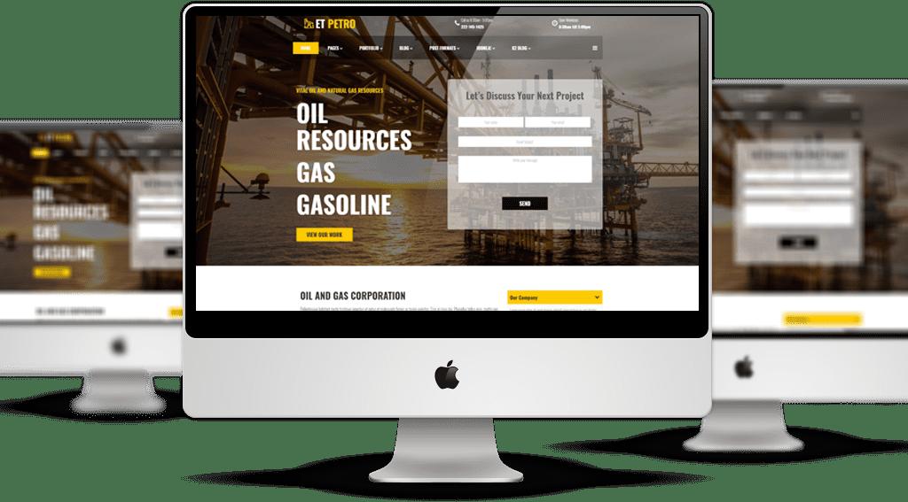 et-petro-free-responsive-joomla-template-mockup
