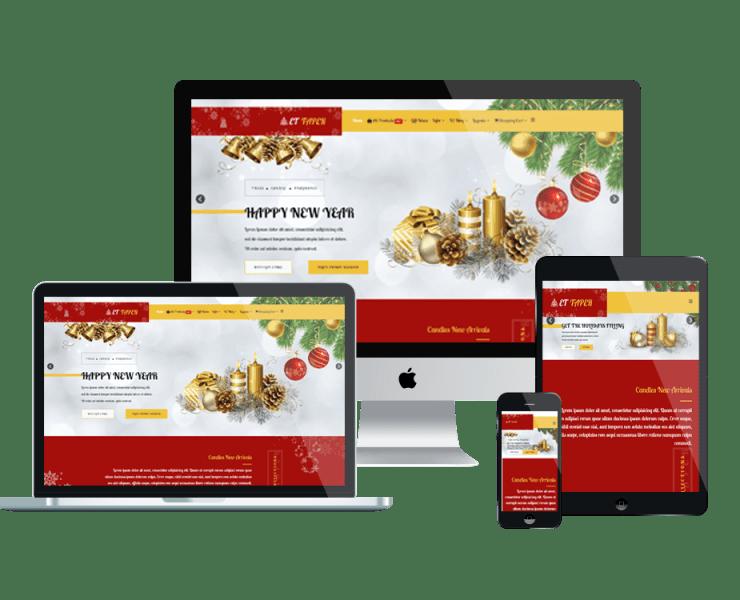 et-taper-free-responsive-website-template-mockup