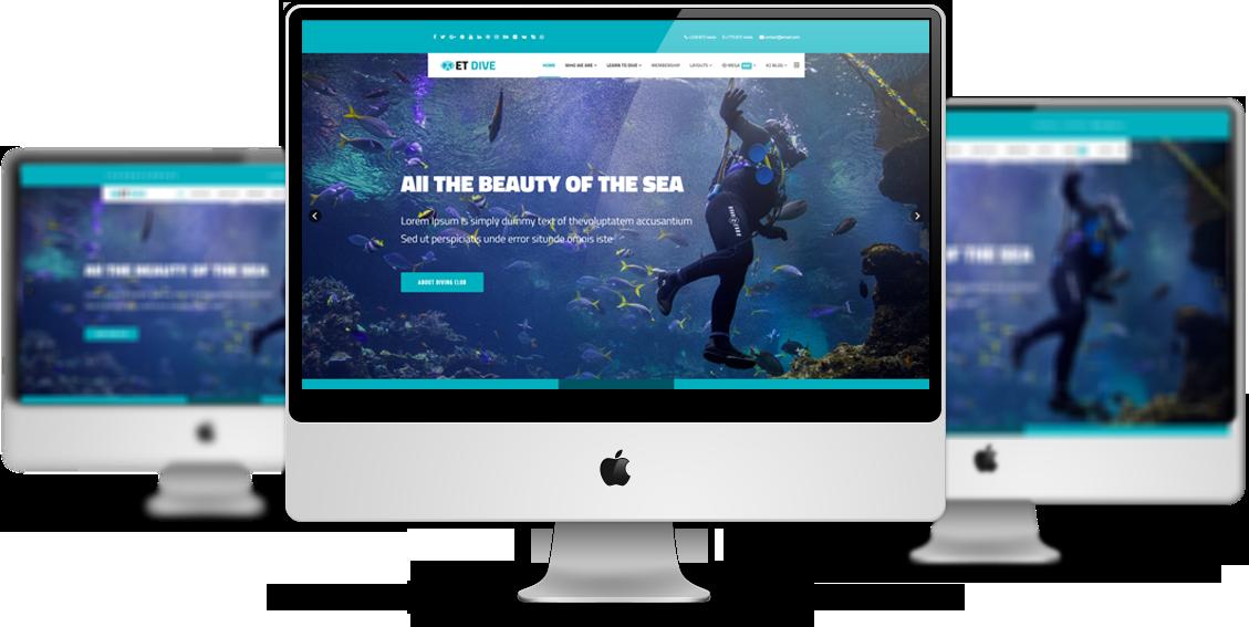 et-dive-free-responsive-joomla-template-mockup