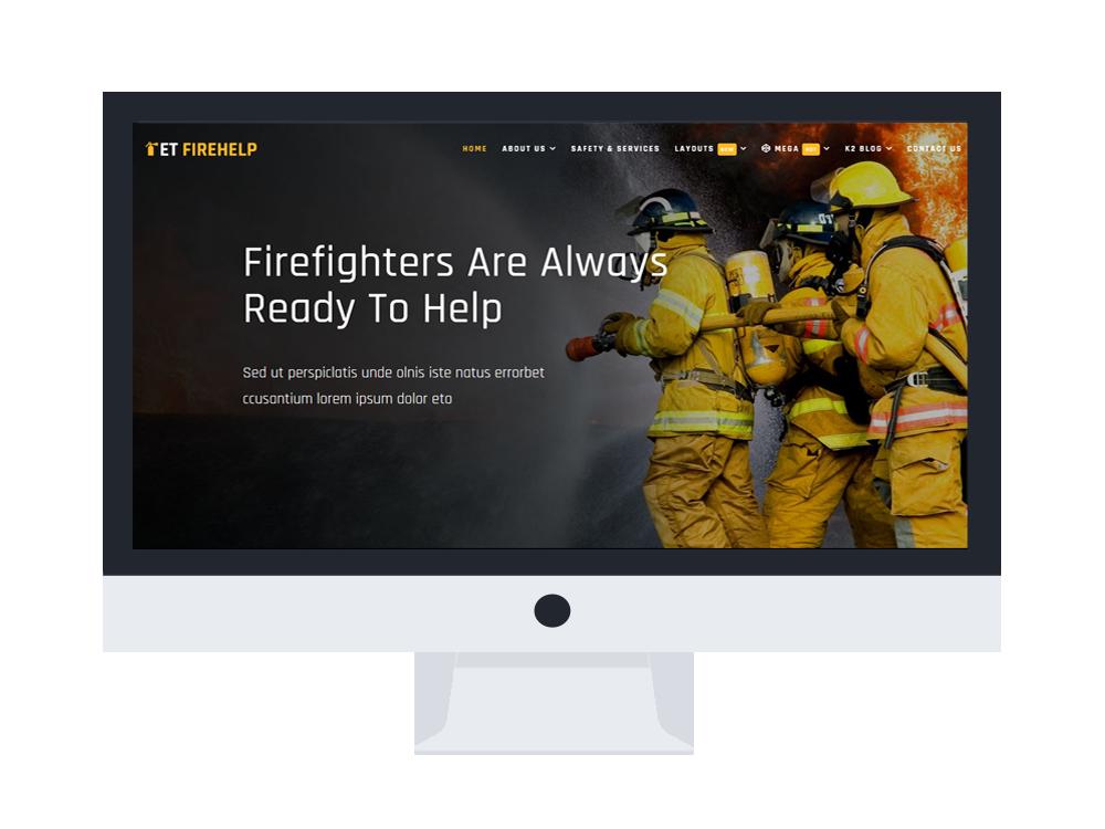 et-firehelp-free-responsive-joomla-template-desktop