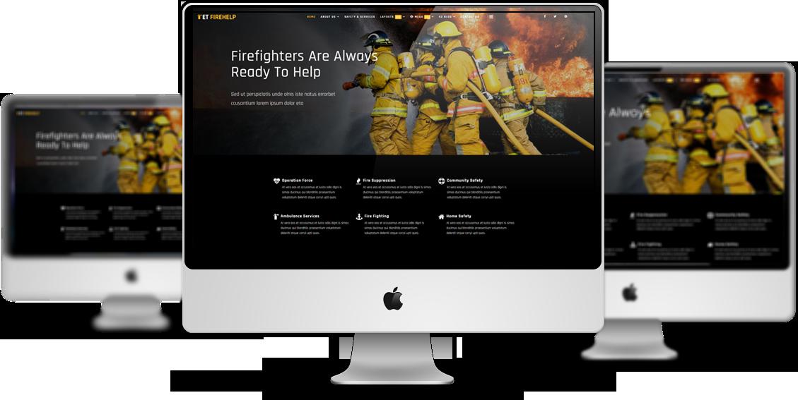 et-firehelp-free-responsive-joomla-template-mockup