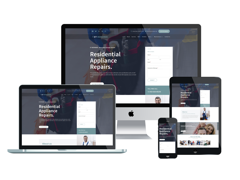 et-repairer-free-responsive-wordpress-theme-full-screen