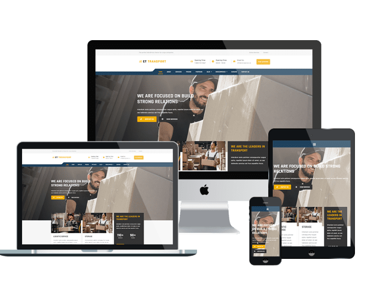 et-transport-wordpress-theme