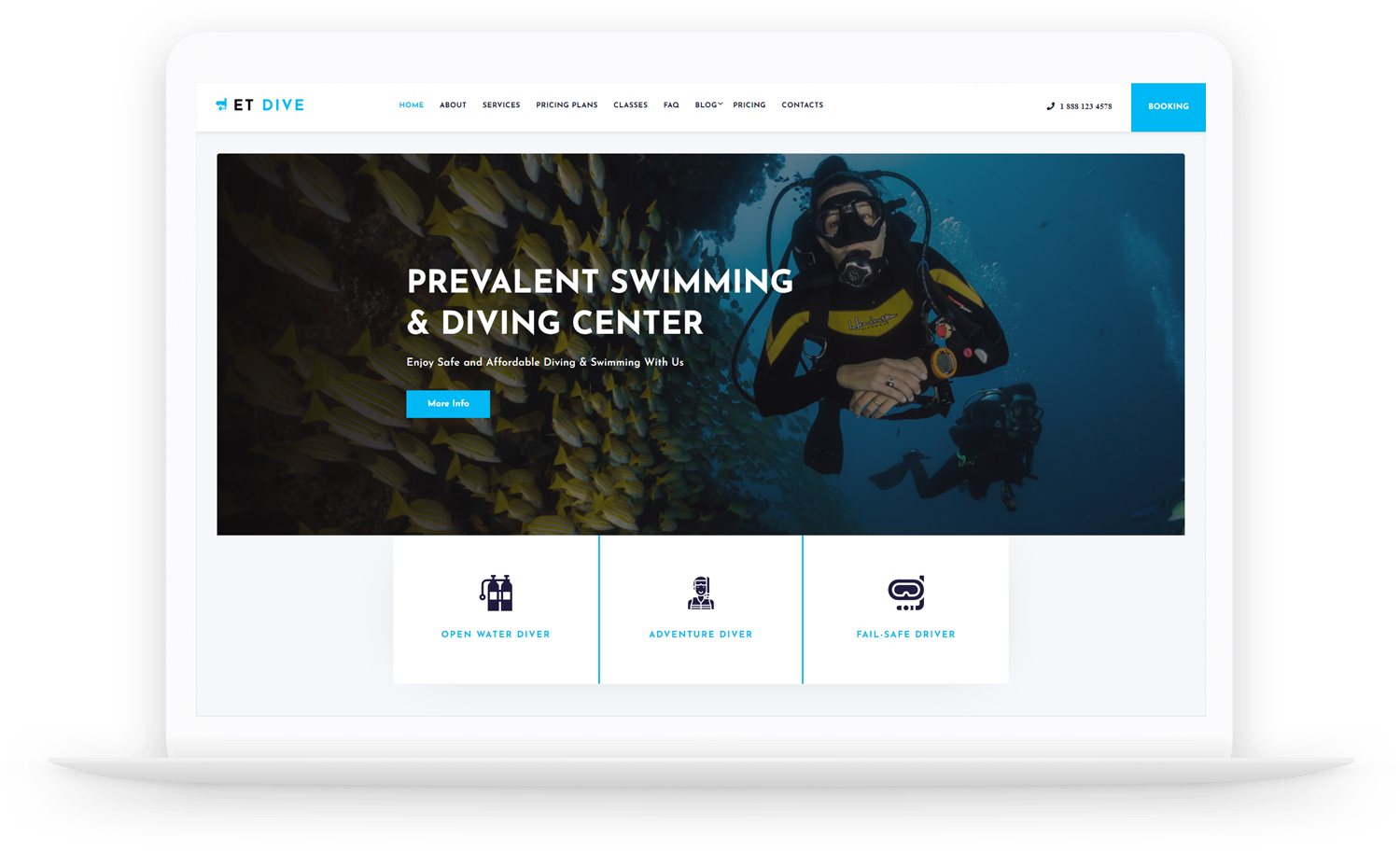 et-dive-free-wordpress-theme-elementor