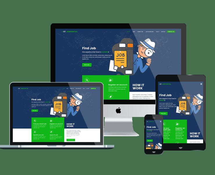 et-jobportal-free-wordpress-theme