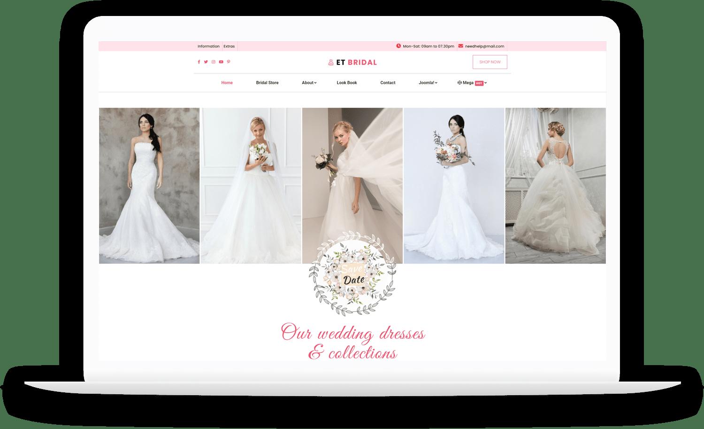 et-bridal-responsive-joomla-template-free