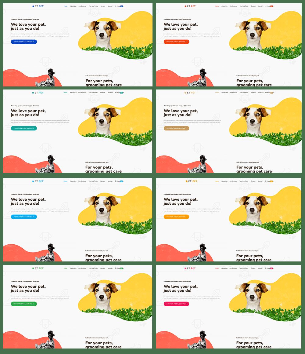 et-pet-responsive-joomla-template-preset