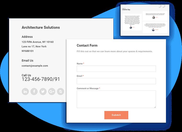 et-archex-free-wordpress-theme-contact