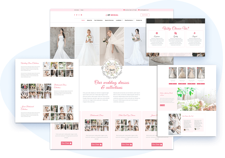 et-bridal-free-wordpress-theme