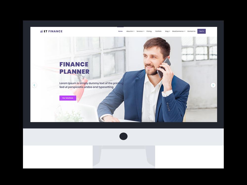 et-finance-wordpress-theme-free