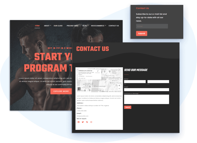 et-fitness-free-wordpress-theme-contact