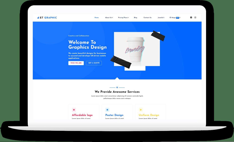 et-graphic-best-free-joomla-template