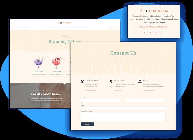 et-ice-cream-free-wordpress-theme-contact