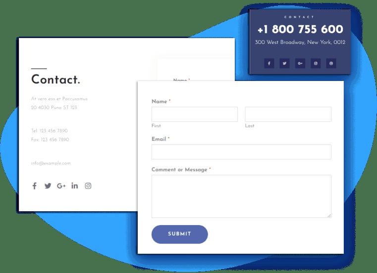 et-poren-free-wordpress-theme-contact