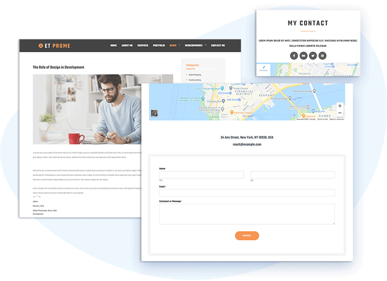 et-prome-free-wordpress-theme-contact