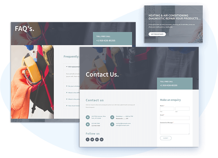 et-repairer-free-wordpress-theme-contact