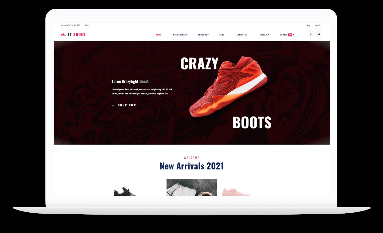 et-shoes-best-free-joomla-template