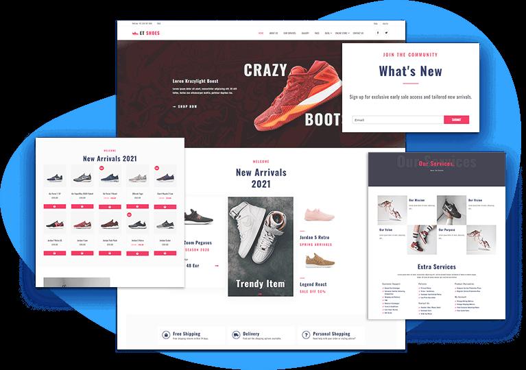 et-shoes-free-wordpress-theme