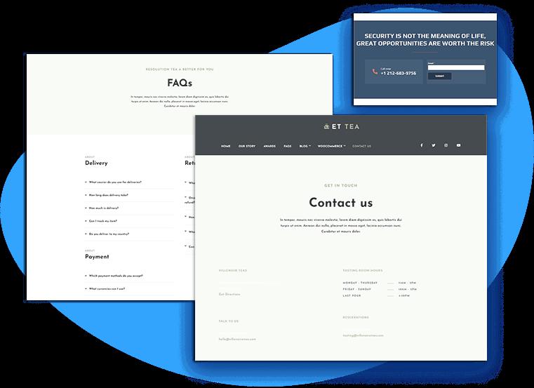 et-tea-free-wordpress-theme-contact
