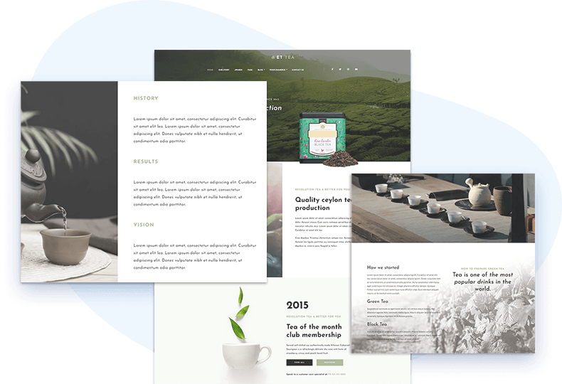 et-tea-free-wordpress-theme-elementor