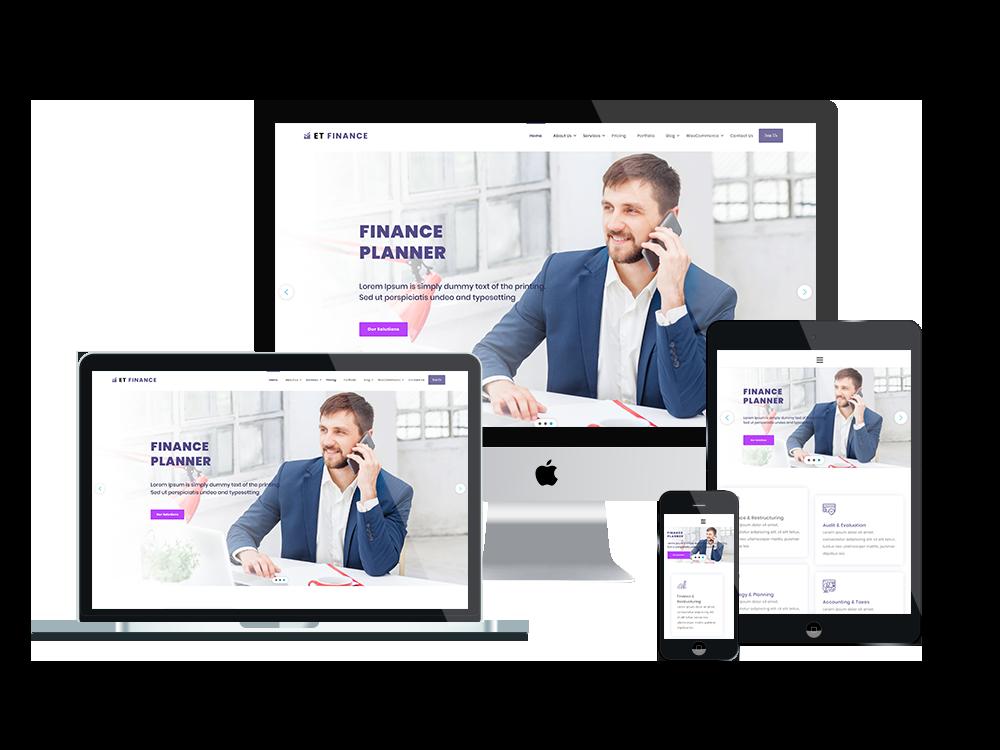 et-finance-wordpress-theme-responsive