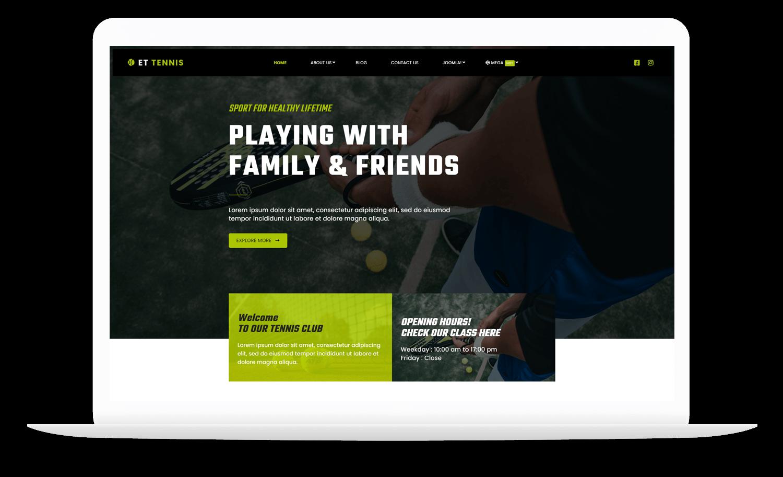 et-tennis-wordpress-theme-free
